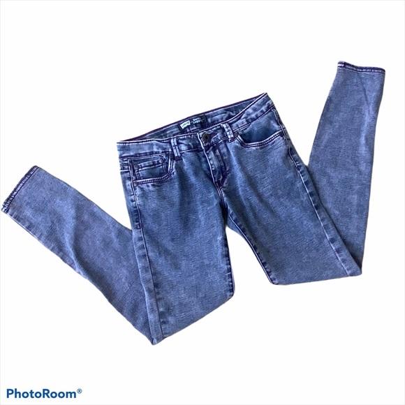 Levi's Denim leggings girls size 12 blue jeggings